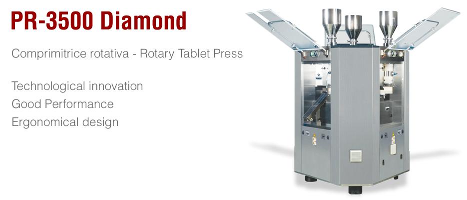 Pr 3500 Diamond B D Italia Tablet Technology